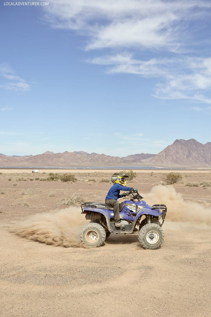 ATV Las Vegas // Things to Do in Las Vegas with Kids.
