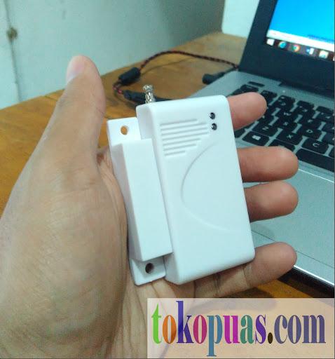 jual pir sensor magnetic alarm gsm