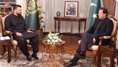Hamza Ali Abbasi's meeting with the Prime Minister Imran Khan News Trending on Twitter