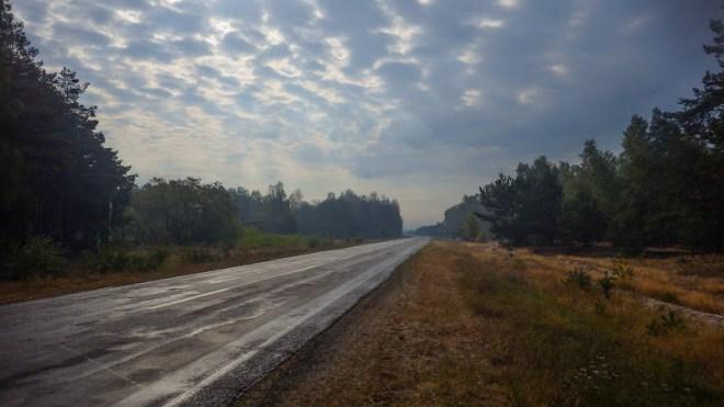 дорога до с.Оконськ
