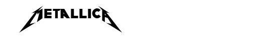 Pastor of Muppets font logo Metallica