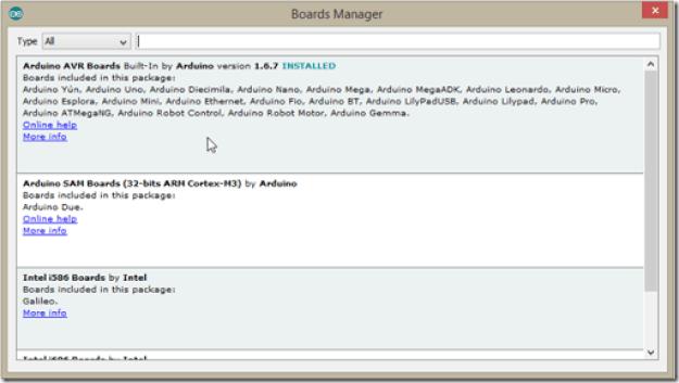 2 Select version thumb1 - Sviluppare con Arduino due