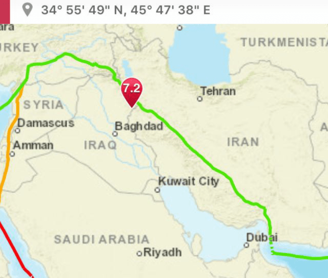 Ladies Who Do Lunch In Kuwait 7 2 Earthquake And In Halabjah Iraq Iran Border Very Far Away
