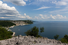 First time seeing the Adriatic Sea in Duino