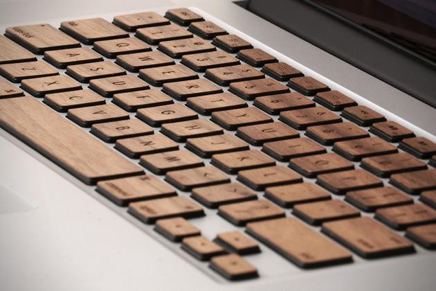 *指尖上滑順的觸感:Lazerwood 木質鍵盤! 7