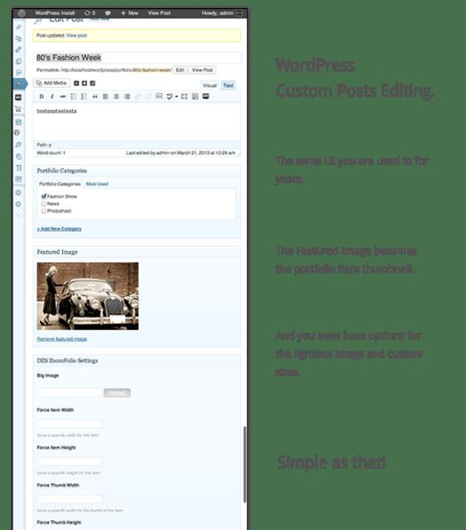 ZoomFolio - WordPress Portfolio Plugin - 7