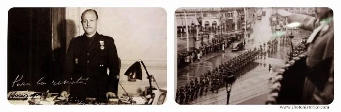 Conde de Mayalde, Director Gral. de Seguridad // Desfile en la Puerta del Sol en honor a Himmler