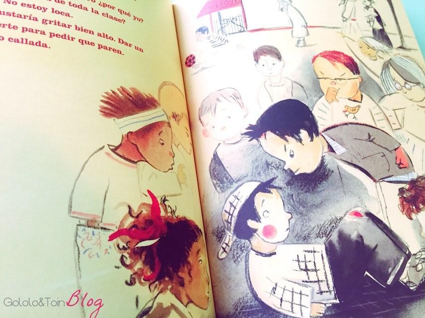 la-biblioteca-rojo-bullying-no-divertido-acoso-escolar-cuento-literatura-niños