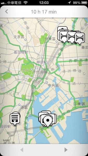 Moves 路徑地圖