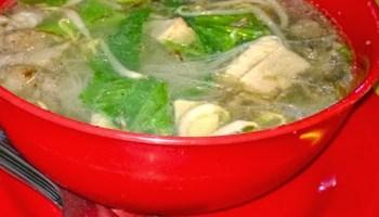 bihun sup daging