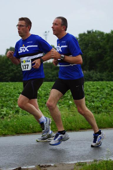 Stefan Verbrugghe en Tom Bruneel in de 30e Dwars door de Zilten, 4 juni 2014