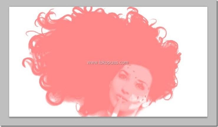 tutorial memotong gambar rambut keriting photoshop tutorial