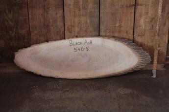 "540 Black Ash -8  1 1/4""x 48"" Max Dia  x 14"" Min Dia"