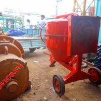Máy trộn bê tông 350L 3ly2 giao cho A Hải - Q. Tân Bình 05-04-2014