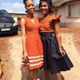 ❣❣ 100 + pictures for shweshwe dresses 2017 ❣❣