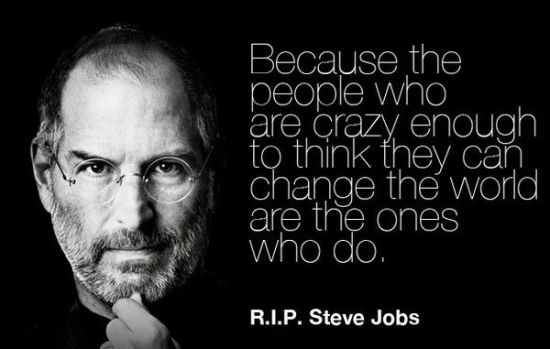 steve jobs quotes everything around you