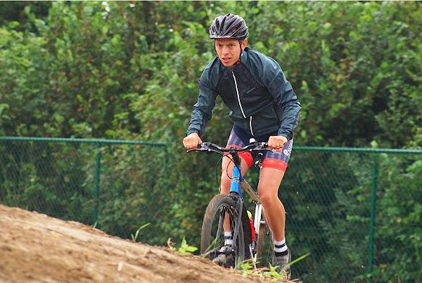 Mountainbike tijdens WVLM- Roeselare Fietst 2012