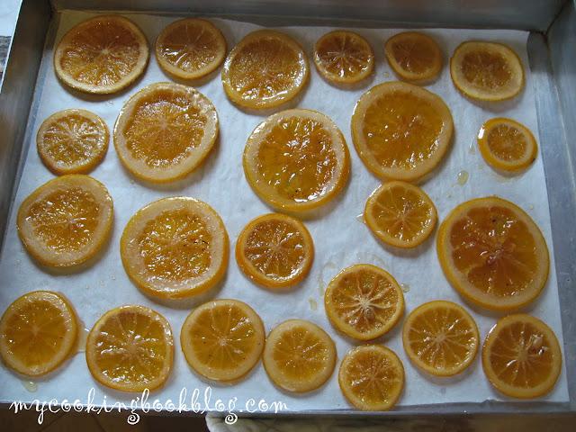 Захаросани портокалови шайби