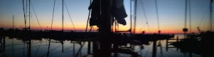Zonsondergang over de Gouwzee