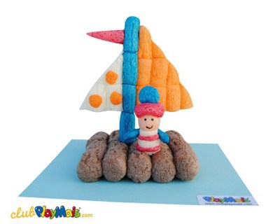 material-fecula-patata-playmais-niños-manualidades-barca-marinero