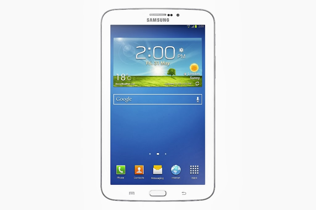 GALAXY Tab 3 (7.0) With LTE_White_Front