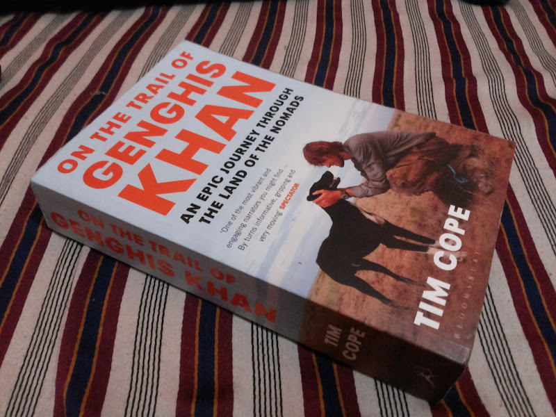 On The Trail of Genghis Khan book photo