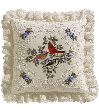 Candlewick embroidery