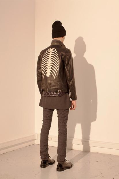 *UNDERCOVERISM 2013秋冬:透視肋骨圖騰帶出冬季寒風刺骨氛圍! 1