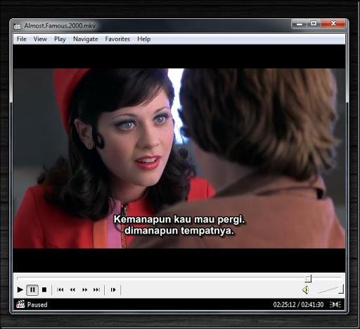 cara setting subtitle warna bahasa indonesia