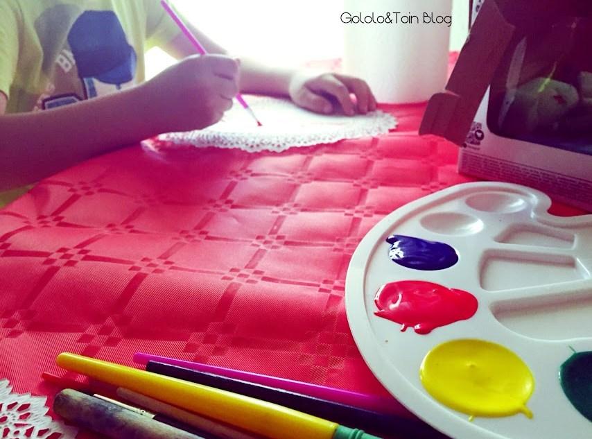 diy-manualidades-fiesta-decoracion-niños-blonda-guirnalda