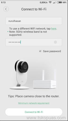 trik koneksi xiaoyi ants camera murah