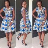 latest ankara styles short gowns 2017