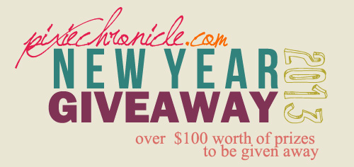 PixieChronicle: Welcome 2013 Giveaway - International