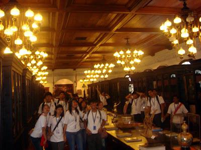 March 18: Inside Malacanang Palace Maharlika Hall, Manila