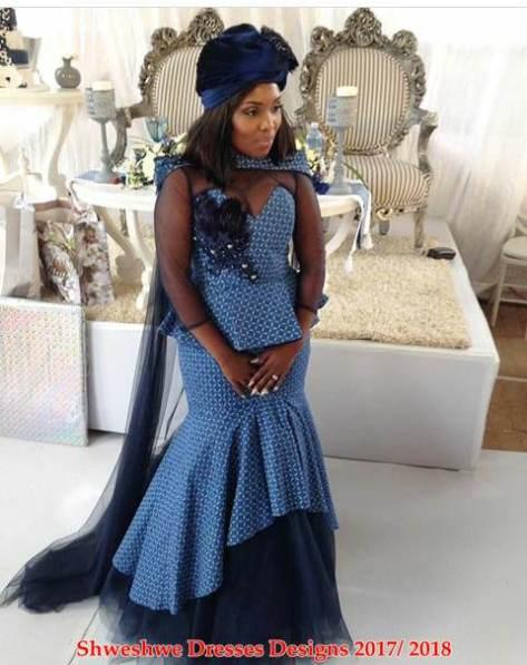 Traditional Wedding Dresses Shweshwe: Latest shweshwe traditional ...