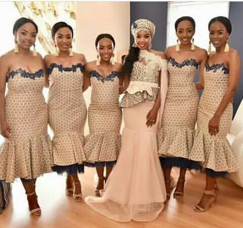African Traditional Wedding Dresses This Resembled A White Dress However The Social And Conventional Hues Examples With Everything Taken