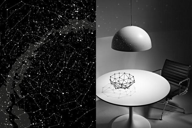 *都市中難得一見的星空:增添家中浪漫氣氛的夜空燈飾 1
