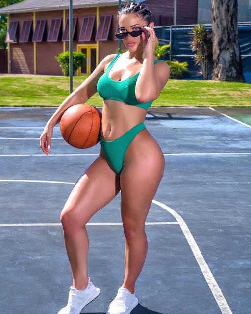 Hot sexy Bikini model style fashion outfit
