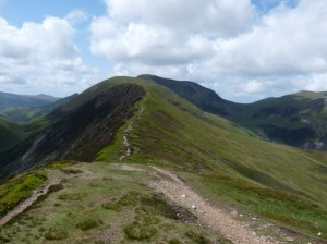 Scar Crags and Crag Hill behind.