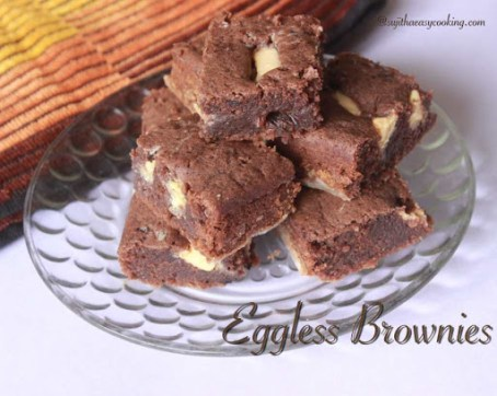 Eggless Brownies2