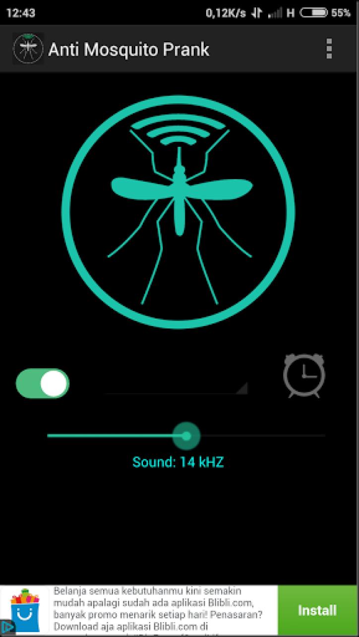 cara mengusir nyamuk dengan hp android