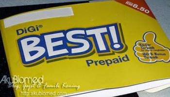 Pek permulaan Digi Best Prepaid
