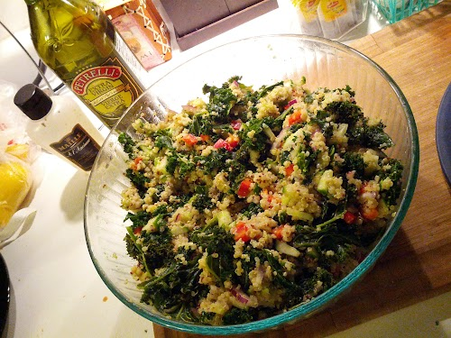 Kale, Quinoa, and Avocado Salad