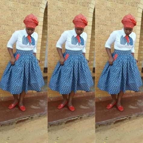 200 Shweshwe Dresses 2017 Just Style Styles 7