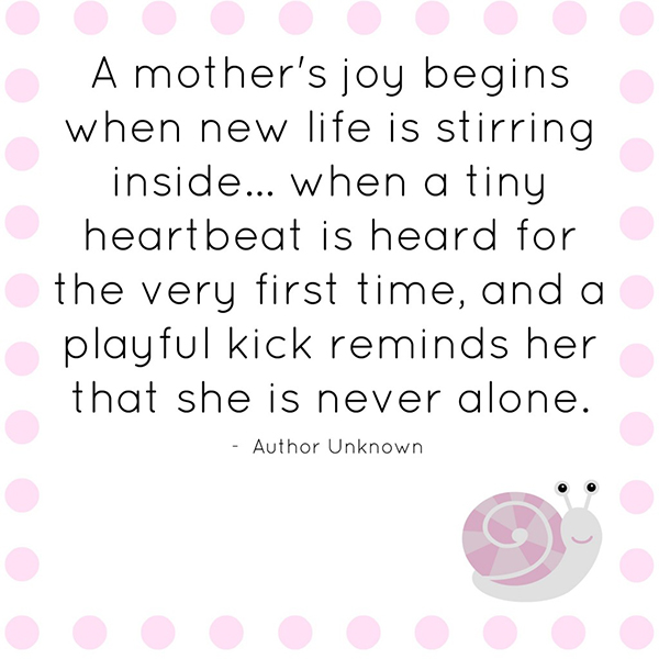 A Motheru0027s Joy Begins When New Life Is Stirring Insideu2026 When A Tiny  Heartbeat Is Heard For The Very First Time, And A Playful Kick Reminds Her  That She Is ...