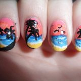 Sunset Nail Arts 2015 for women