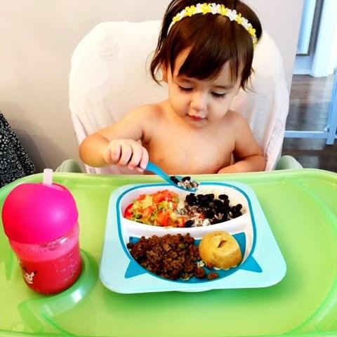 A importancia das cores no prato infantil balanceado