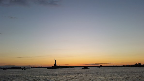 Sunset on the Staten Island Ferry