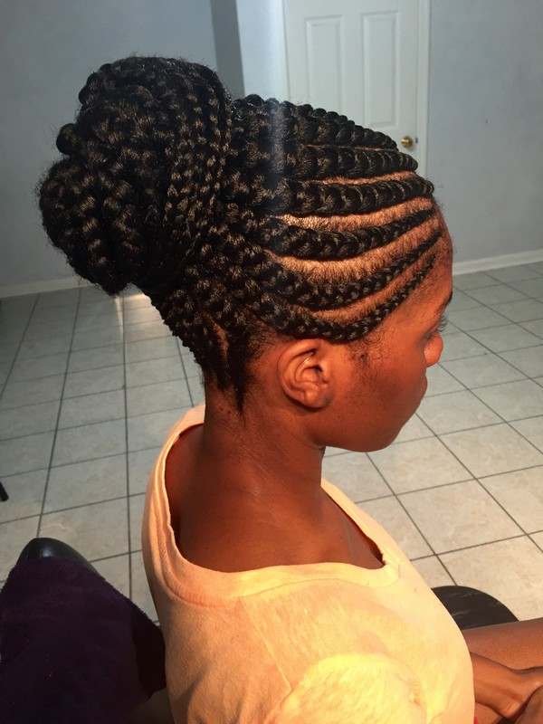 Ghana Braids Hairstyles 2019 with Pictures For Black Women's 2