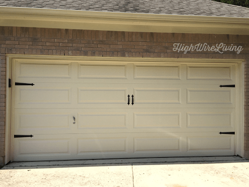 garage door update magnetic hardware carriage